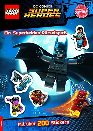 LEGO® DC Comics(TM) Superhelden. Ein Superhelden-Rätselspaß - Mit über 200 Stickern ()