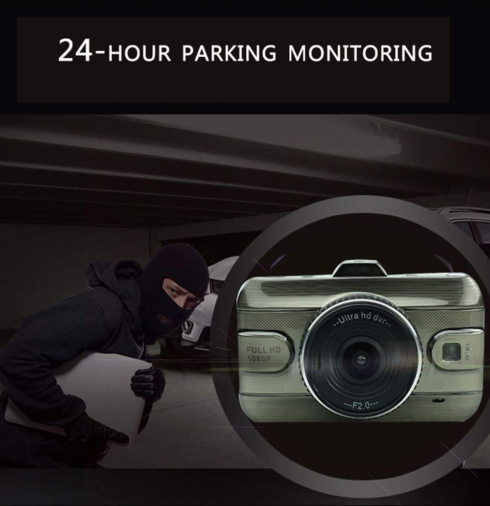 ZYWX-Full-HD-1080P-3-Inch-Car-Video-Recorder-170-Wide-Angle-Loop-Recording-Motion-Detection-All-Day-Monitoring-Night-Vision-Driving-Recorder
