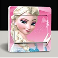 Elsa Frozen Interruptor de luz decorativos sentado Color