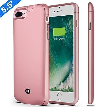 finest selection 1ff43 46560 U-good iPhone 8 Plus 7 Plus Battery Case,Fit Lightning Headphone, 4200mAh  Ultra Slim Charging Case for iPhone 7/8 Plus(5.5') Battery Charger  Case,100% ...