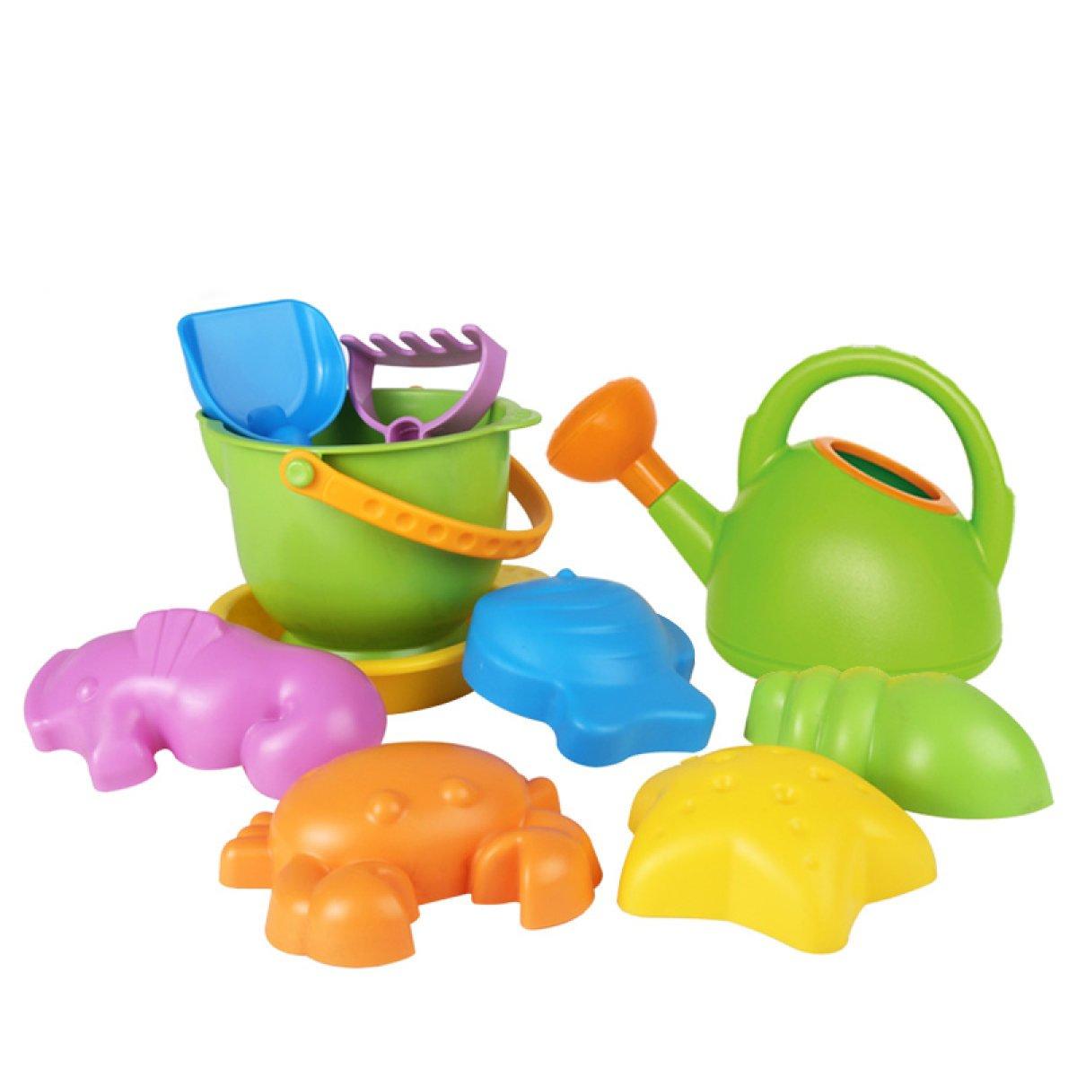 barato en alta calidad MEI Juguetes de playa para niños Juego de juguetes juguetes juguetes para la playa Bebé Juego grande Juguetes de arena Herramientas de dragado Pala de reloj de arena Pequeño cubo ( Color : A )  centro comercial de moda