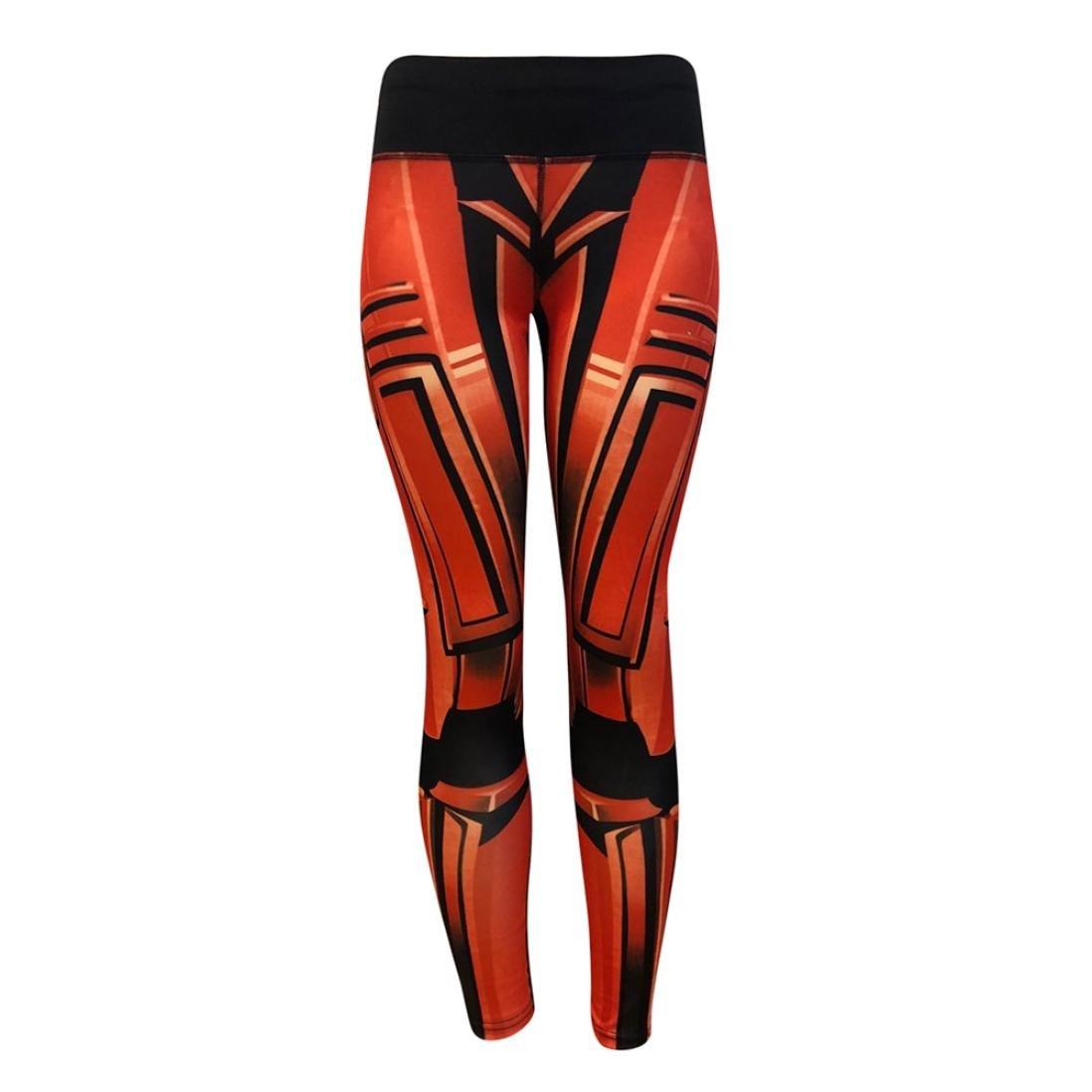 a79b7a929d0c2 Yoga Leggings Gris Bleu Orange Femme, Mode Féminine Leggings D'entraînement  Fitness Sports Gym Running Yoga Pantalon Athlétique Par Xinantime:  Amazon.fr: ...