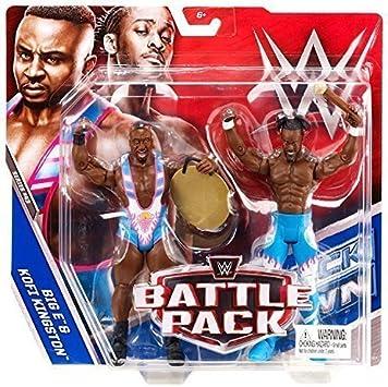 WWE Pack De Lucha Serie 43 Figuras De Acción The New Day) Big E & Kofi Kingston: Amazon.es: Juguetes y juegos