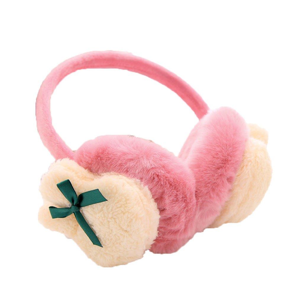 Gardening Spring Women Lovely Rabbit Fuzzy Winter Warmth Thicken Splice Earmuffs