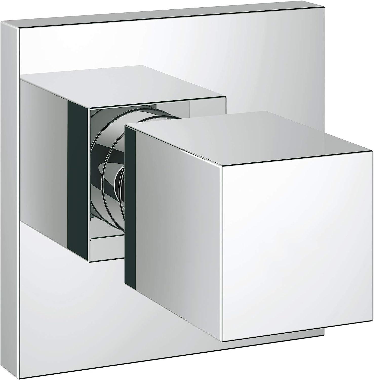 Grohe 19910000 Eurocube Single Handle Volume Control Valve Trim Kit Faucet Trim Kits Amazon Com