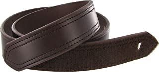 product image for Boston Leather 1.5in. Hook And Loop Tipped Leather Belt (36, Brown)