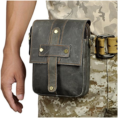 BUM Men's Sling Bag (Grey) - 3