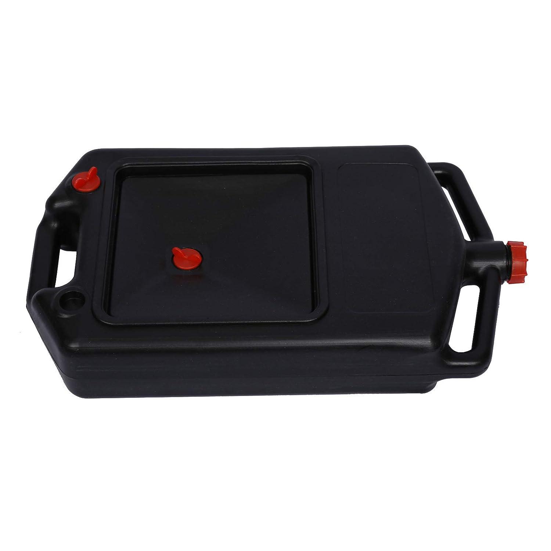 Tanica raccolta olio per auto Contenitore cambio-olio macchina veicolo in polietilene 8L