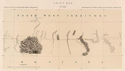 Amazon.com: Exploration Book | 1878 Joint Map No. XXI. United States ...