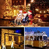 Curtain Lights, 8 Modes Fairy Lights String with