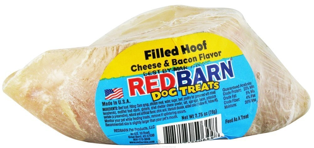 Red Barn Cheese Bacon Filled Hoof Dog 5 Pack