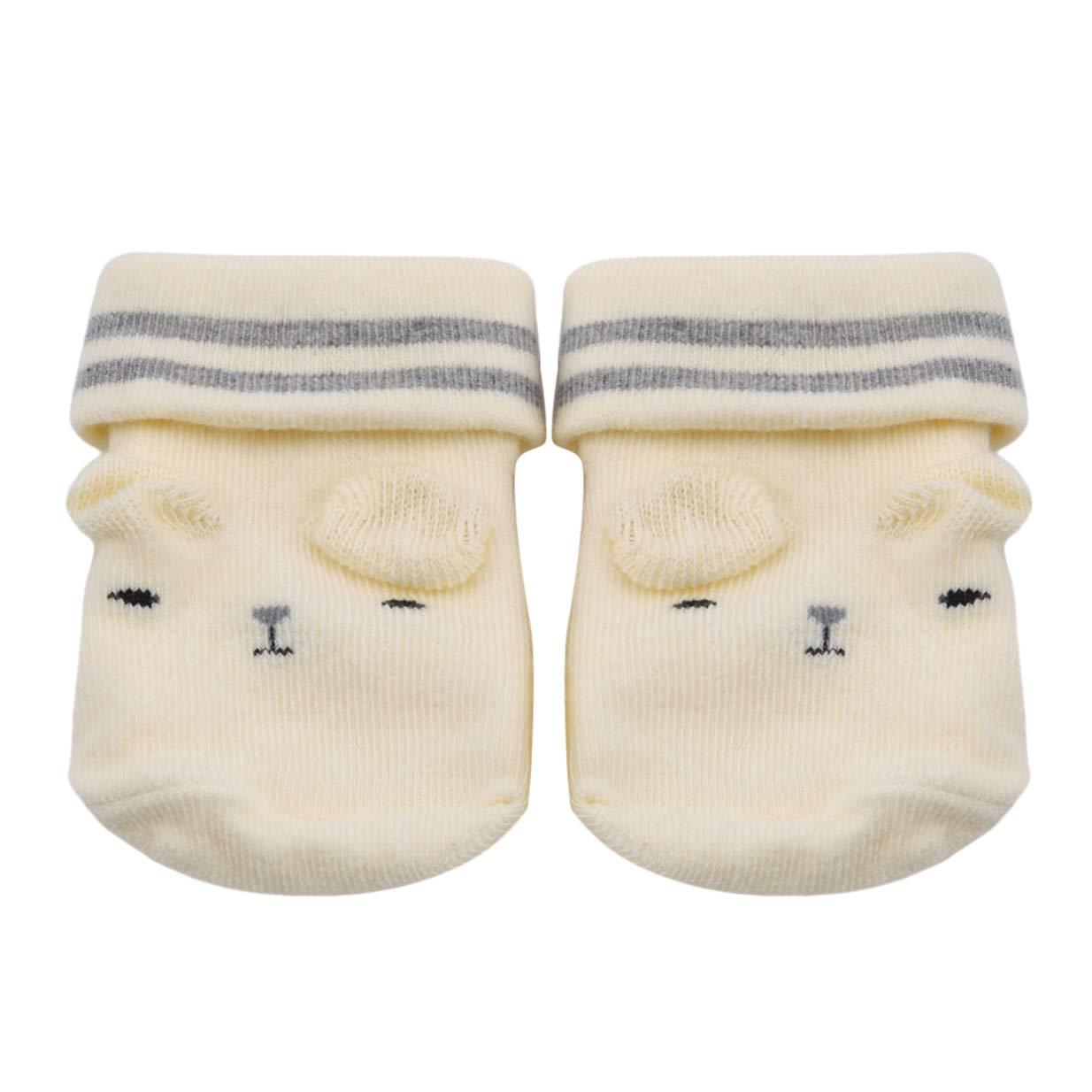 LALANG Cartoon Cute Baby Soft Three-dimensional Dispensing Anti-slip Socks Birthday Gifts