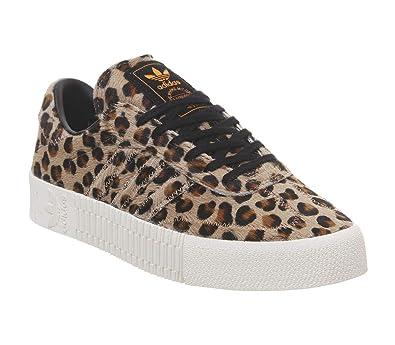 adidas Originals Damen Sneakers Sambarose braun 40: Amazon