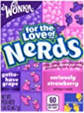 Wonka Nerds, Grape & Strawberry, 1.65-Ounce Packets (Pack of 36)