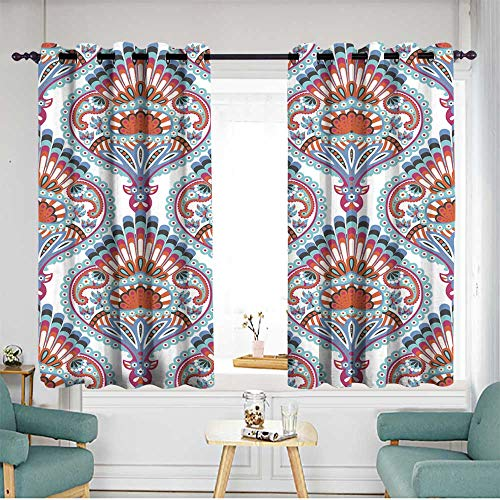 home1love Curtains for Bedroom W 72