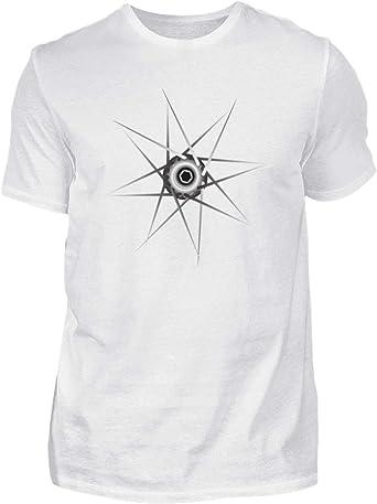 Camiseta de Ciclismo para Hombre de MTB, IR en Bici, Color Blanco ...
