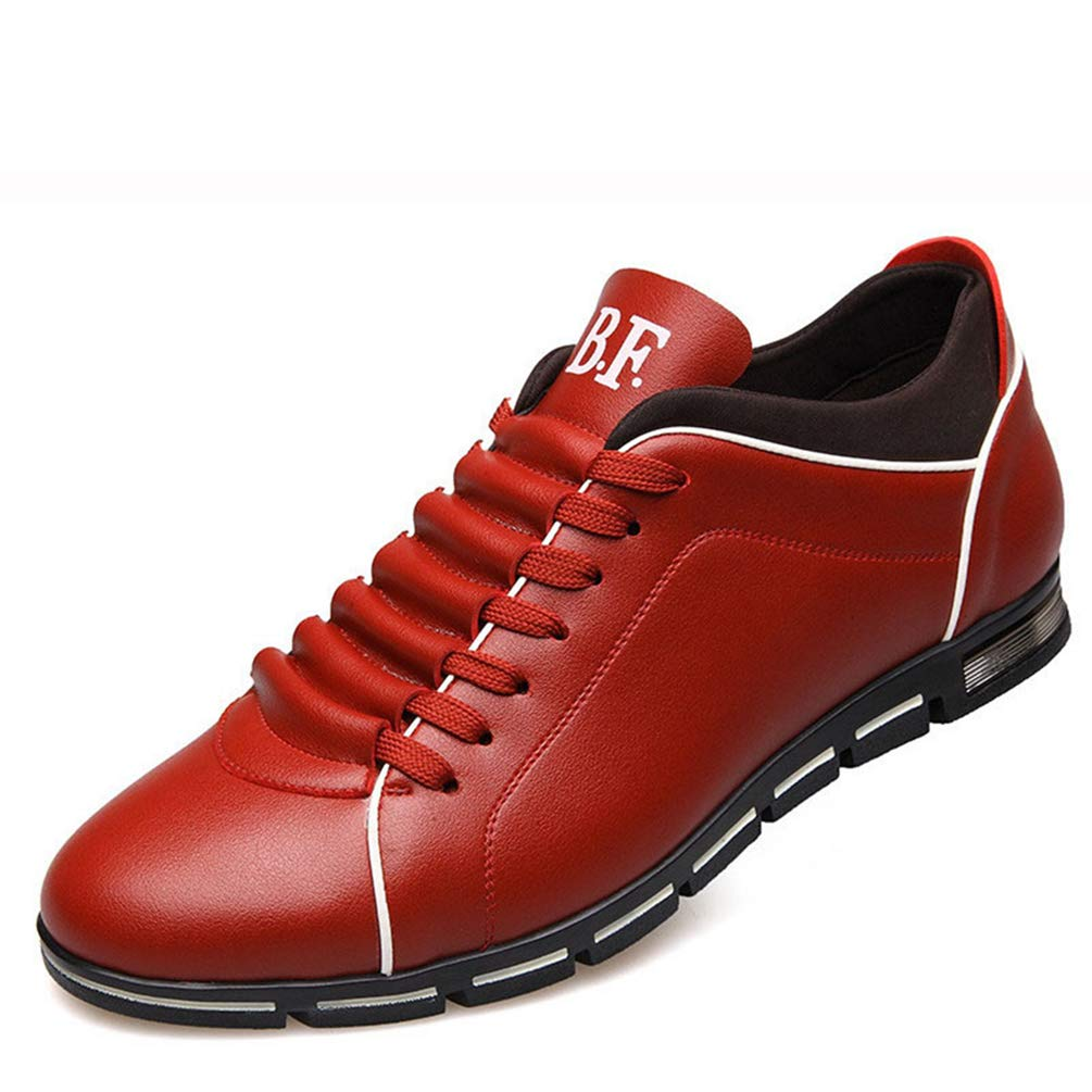 Los Hombres Se Visten Zapatos Respirables Casuales para Hombres Zapatos Planos De Hombre Azul Zapatillas De Hombre Running 50