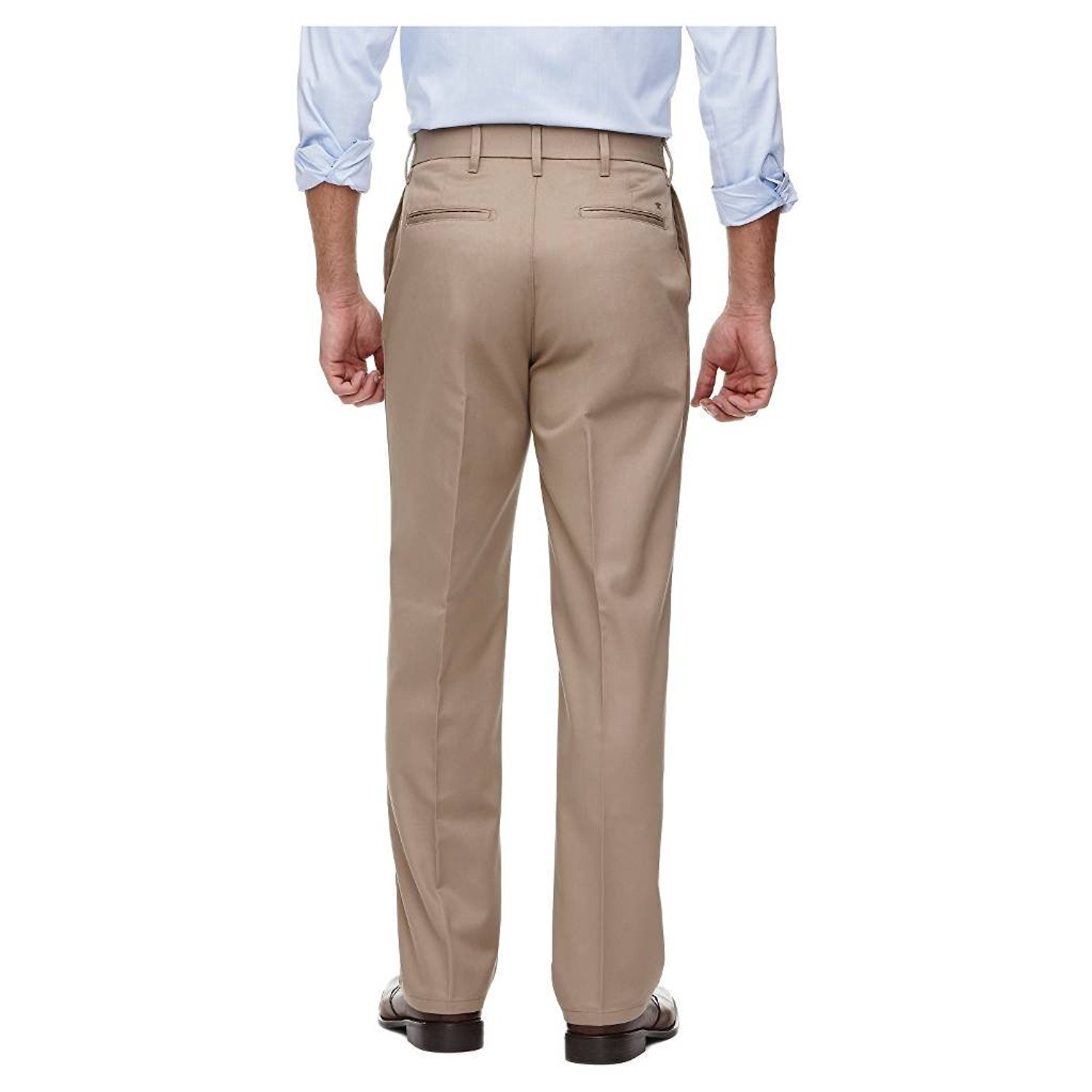 Haggar H26-Mens No Iron Classic Fit Twill Trouser