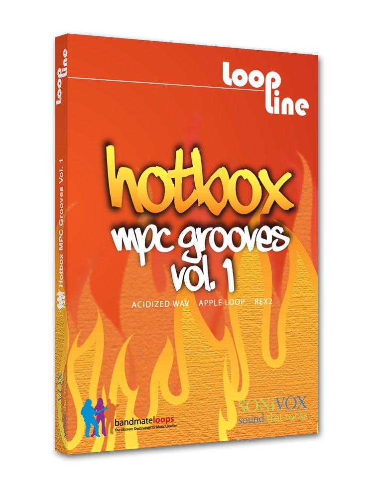 Logiciel Instrument virtuel Sonivox Hotbox Volume 2 MPC Grooves