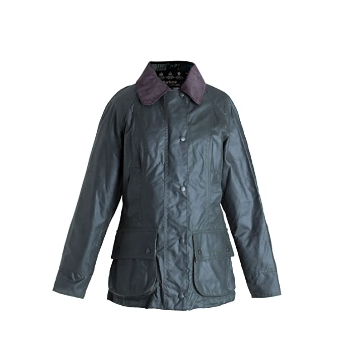 Amazon.com: Barbour Beadnell chamarra de cera: Clothing
