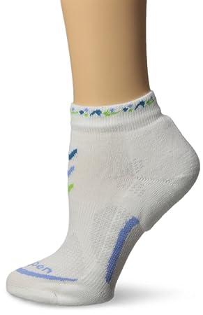 Lorpen Calcetines de luz Mini para Mujer, Mujer, Blanco