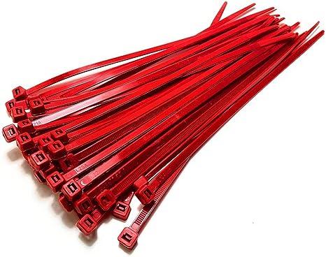 Nylon Kunststoff Kabelbinder Lange Und Breite Extra Große Kabelbinder Schwarz Weiß Wickel 50 Stück Schwarz 4 8 Mm X 450 Mm Rot 4 8 Mm X 200 Mm Baumarkt