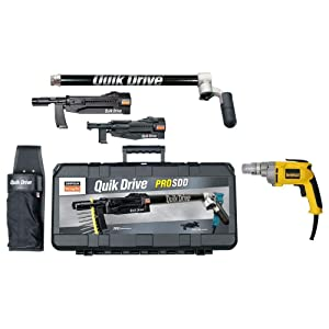 Simpson Strong Tie PROSDDD25K QuikDrive Combo System with DeWalt 2500 RPM Motor