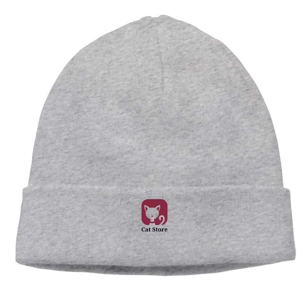 nordic runes Cartoon Cat Beanie Hat Winter Warm Knit Skull Cap for Mens//Womens