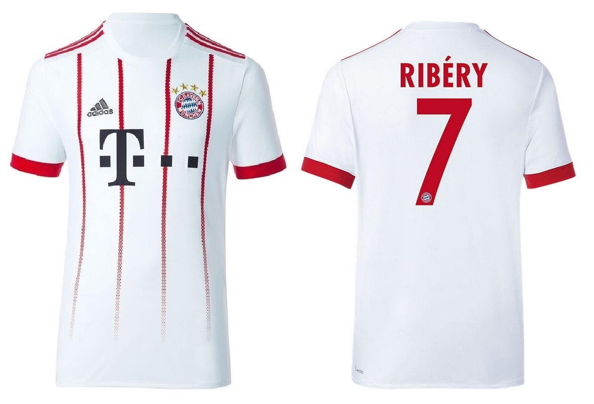 Trikot Kinder FC Bayern 2017-2018 Third - Ribery 7