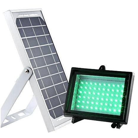 Renepv 5W Solar Floodlight 60LED Panel Flood Lamps kit (Green