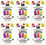 Project 7 Gourmet Gummies Party Mix - Made with Organic Sweeteners, Made in the USA, Non-GMO - 2 Ounces, Pack of 6