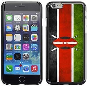 Graphic4You Vintage Kenyan Flag of Kenya Design Hard Case Cover for Apple iPhone