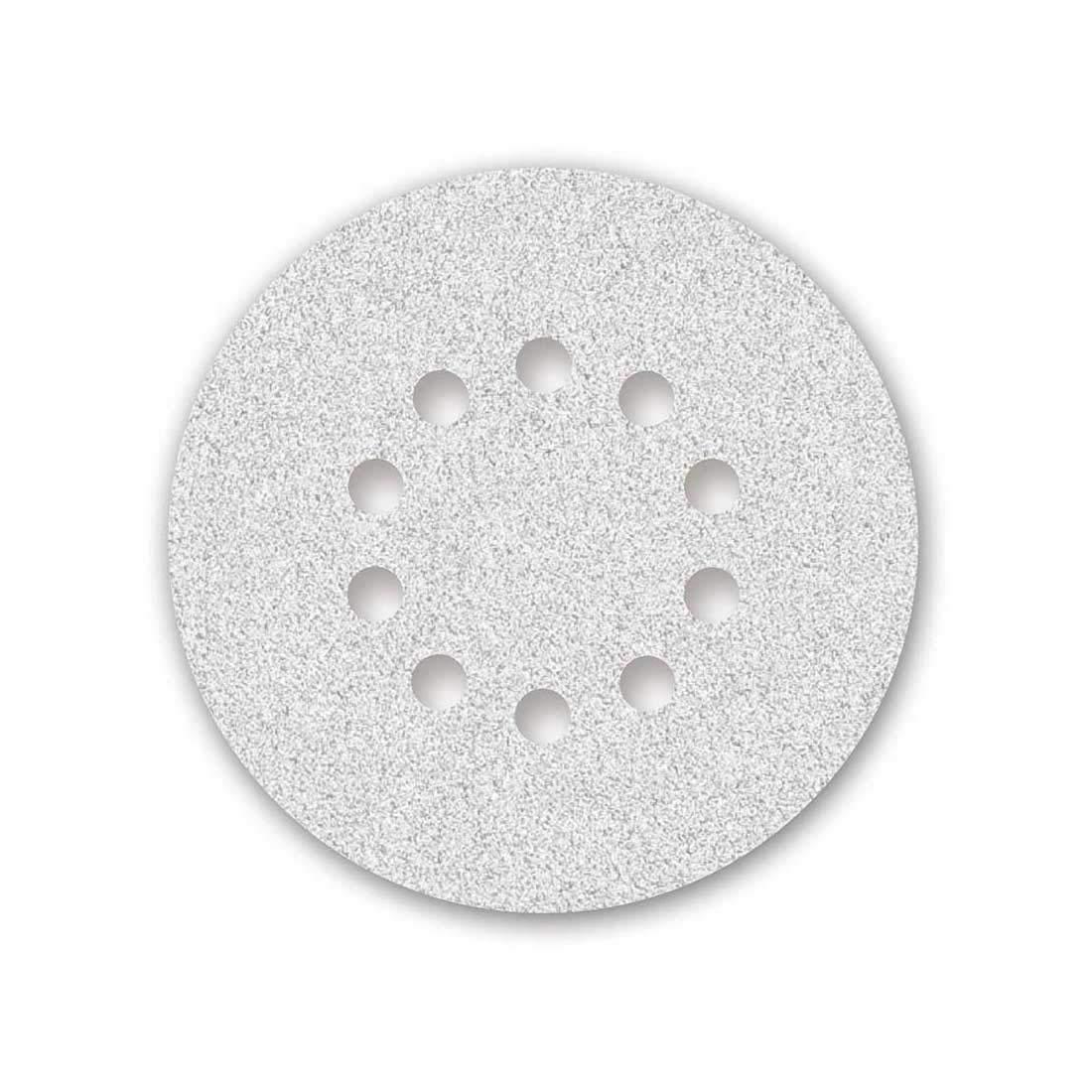 /ø 225 mm 10-hole Grit 240 25 MENZER Hook /& Loop Sanding Discs for Dry Wall//Ceiling Sander white