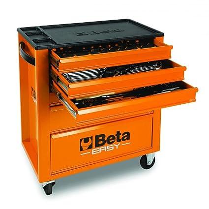 Cajonera Beta Easy C24E/VI Surtido 182 Herramientas + Carro ...