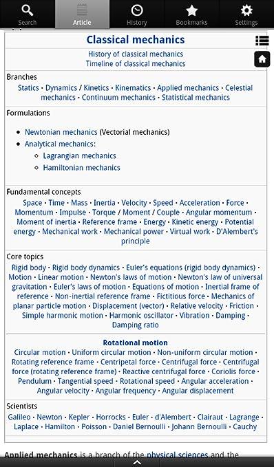 Physics Encyclopedia