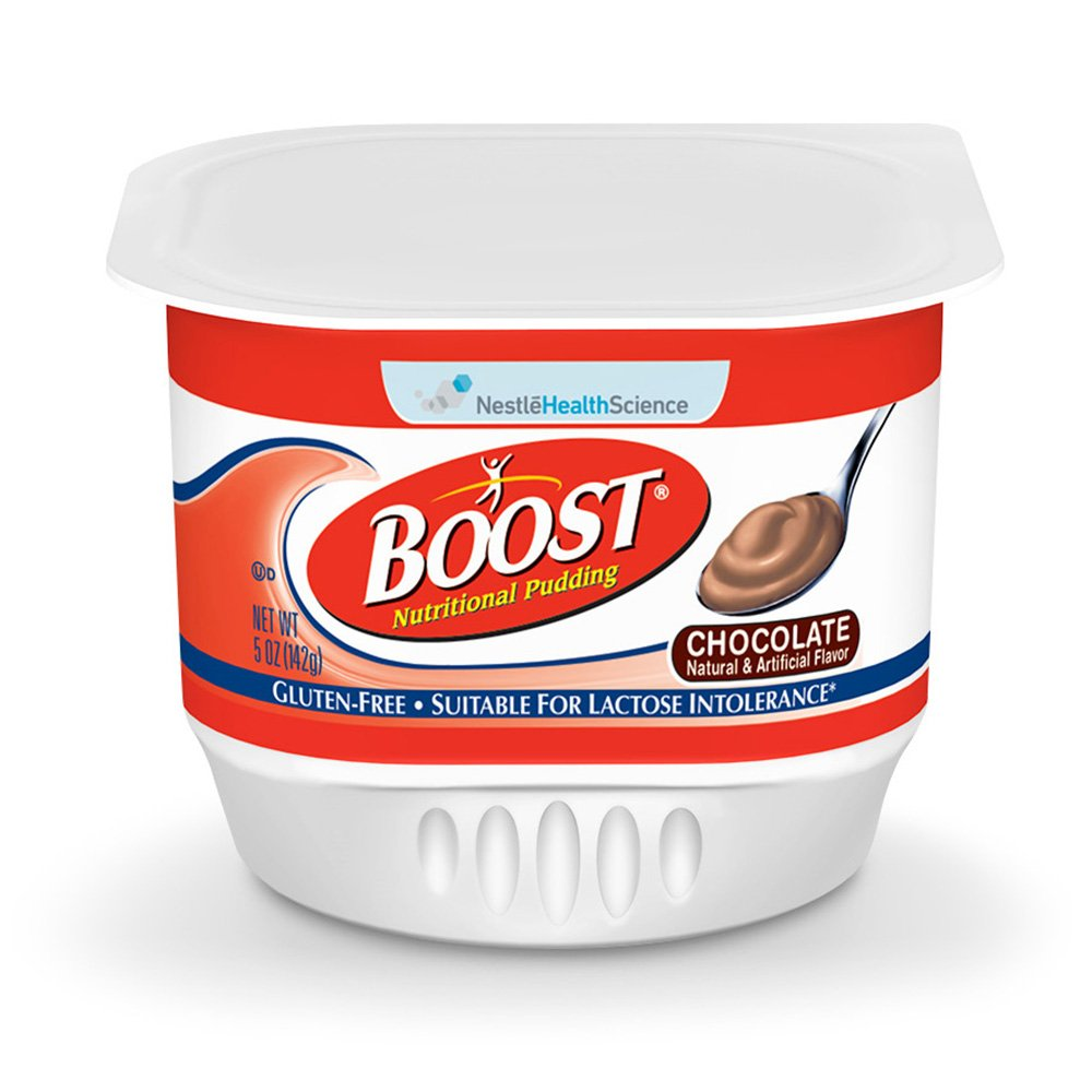 Boost Pudding Chocolate, 5 Ounce - 48 Case by Boost