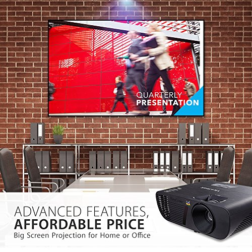 ViewSonic PJD5155 LightStream SVGA Home Entertainment Projector HDMI