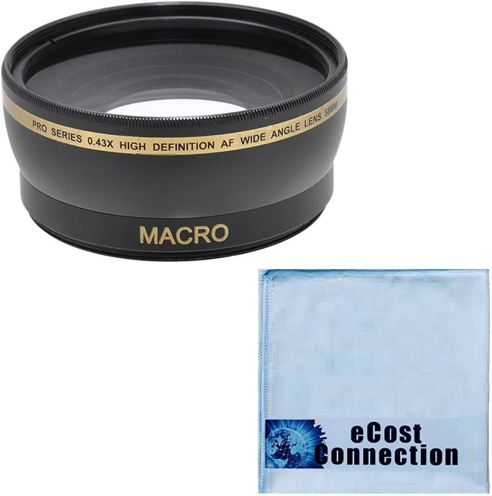 65mm F2.8 28mm F1.8 70-300mm IS USM 24mm F2.8 eCost Micrifiber Cloth 75-300mm III 55-250mm 58MM Wide Angle//Macro Lens for Canon 18-55mm 100mm F2 /& 100mm F2.8 lens 85mm F1.8 50mm F1.4 90mm F2.8