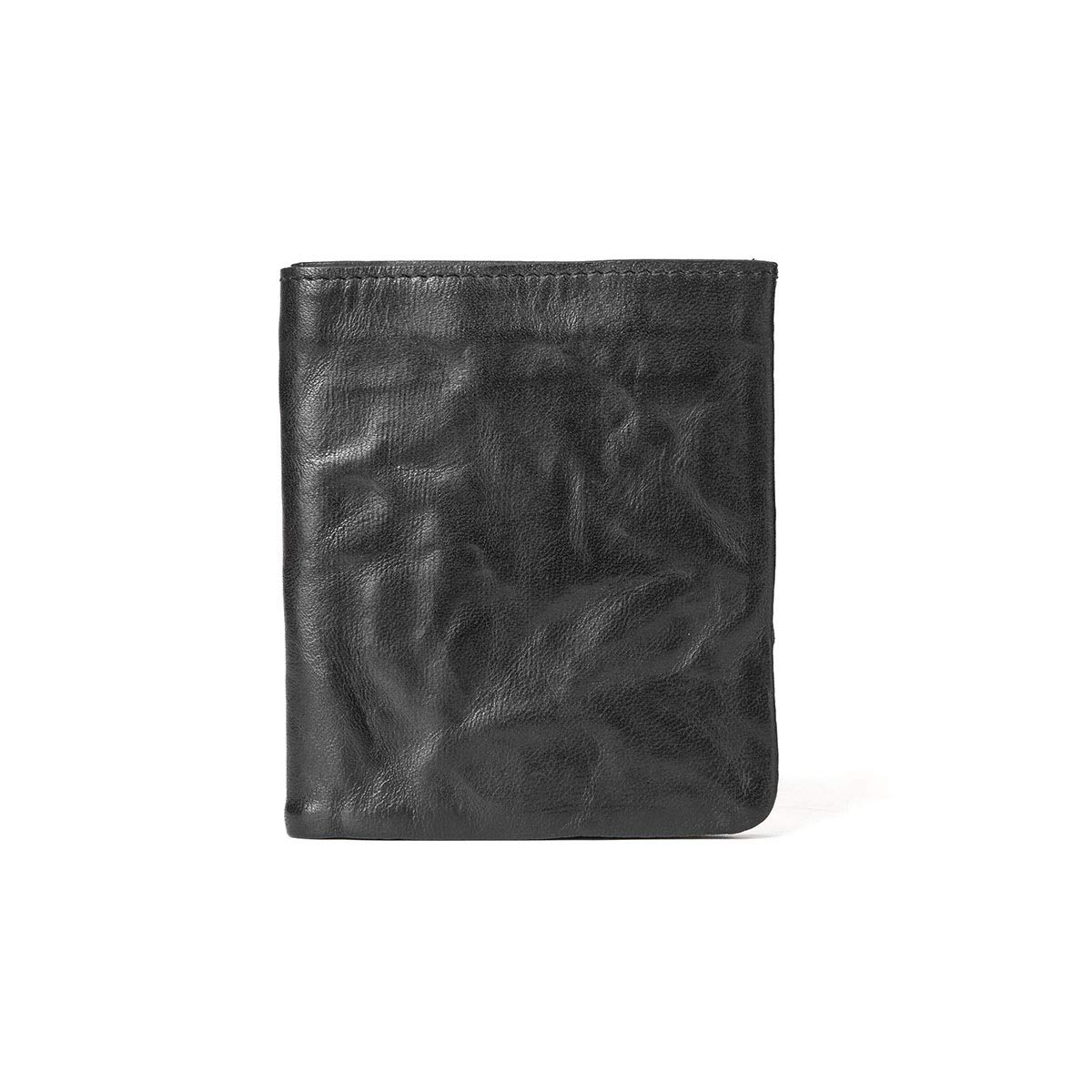 103e59af3e Black Yikuo Men's And Women's Brown Vintage Wallet Wallet Wallet Leather,  Size 10.5 9 1 Cm Multiple interlayer 719490