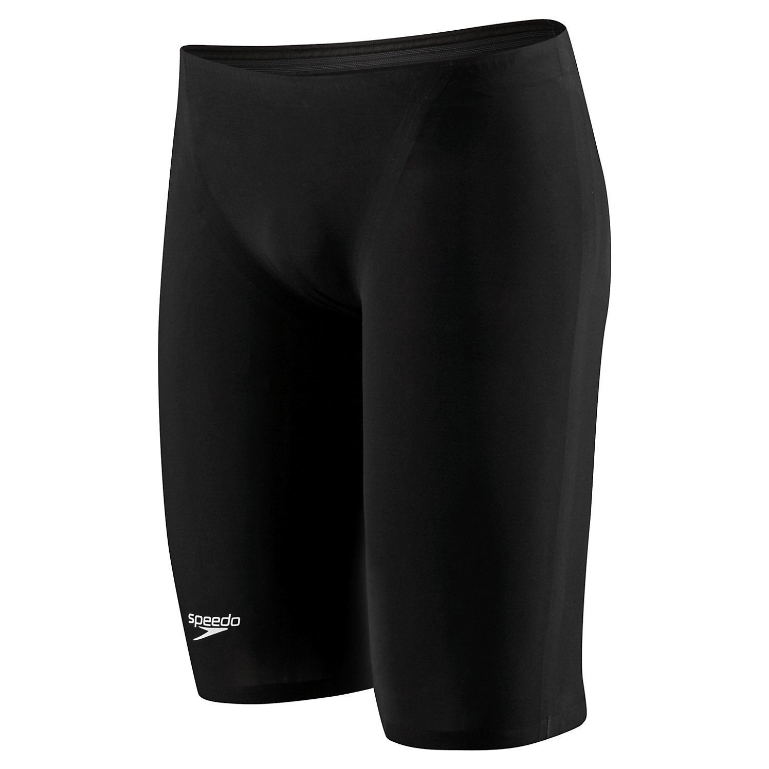Speedo Men's LZR Racer Elite 2 High Waist Jammer - 26 - Black/Hot Pink