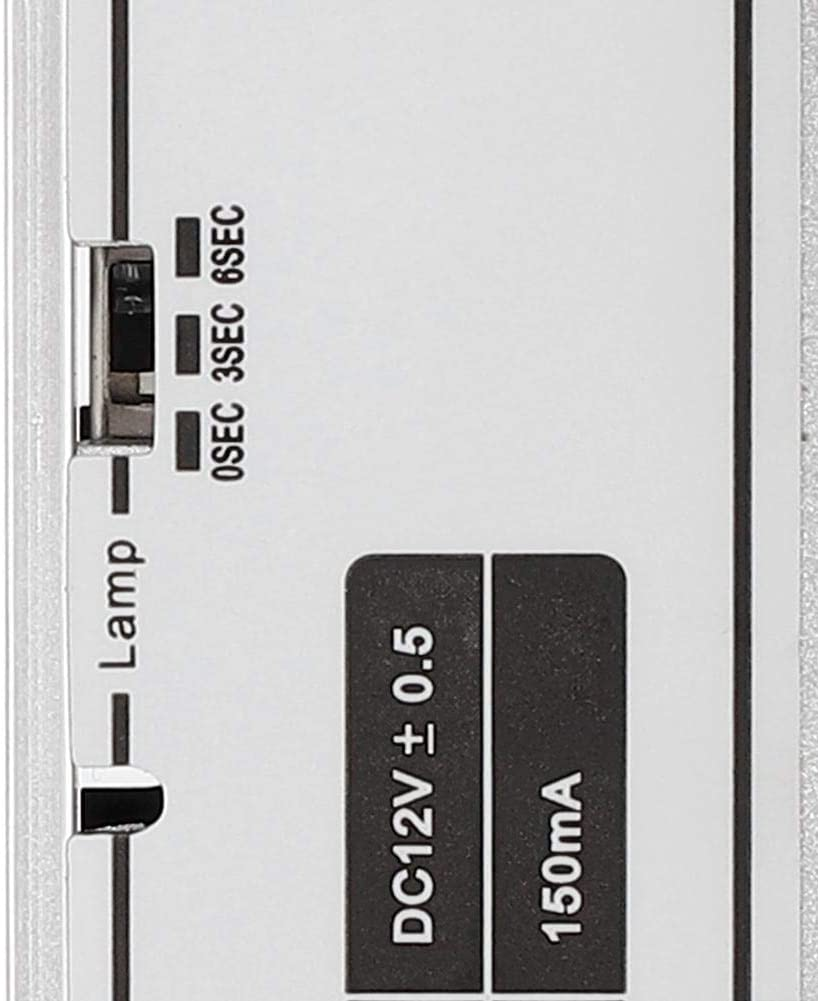 DC 12V 5-Draht Elektrisches Riegel-T/ürschloss Einsteckschloss mit 3 Arten Verz/ögerungszeit f/ür das Zugangskontroll-Sicherheitssystem Hopcd Elektrisches Riegelschloss