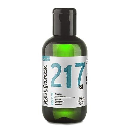 Naissance Aceite de Ricino BIO 100ml - Puro, natural, certificado ecológico, prensado en