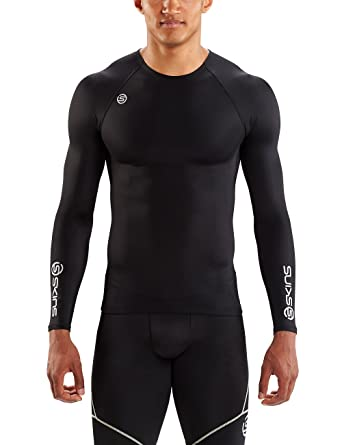 87674f67cdadb Skins DNAmic Team Compression Long Sleeve Top: Amazon.co.uk: Sports ...