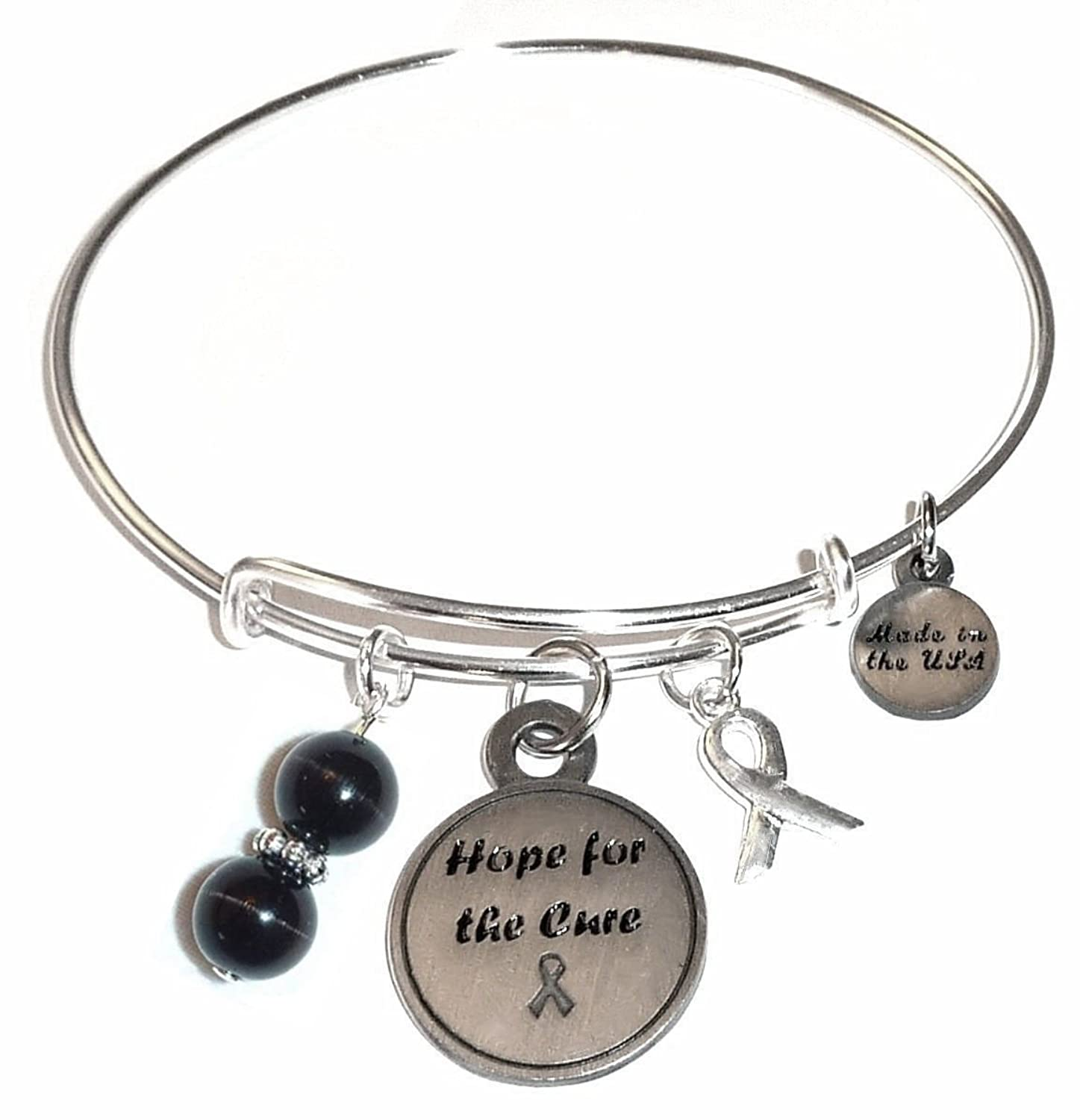 charm and treasure product bracelet breast cancer support awareness hope