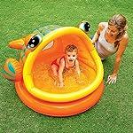 Intex Lazy Fish Shade Baby Pool (Multicolor)