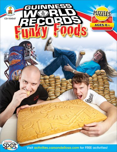 Guinness World Records® Funky Foods, Grades 3 - 5