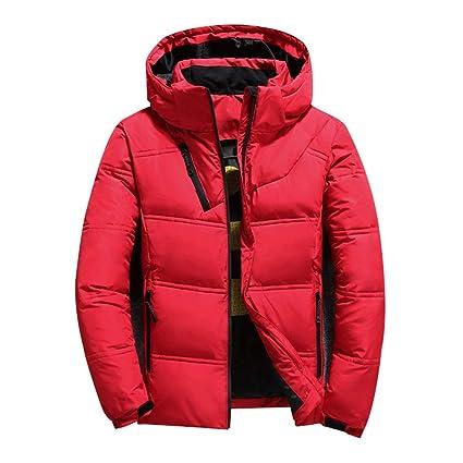 Chaquetas de pluma Abrigos cálidos para hombres Abrigo de invierno para hombres Chaqueta delgada para hombres