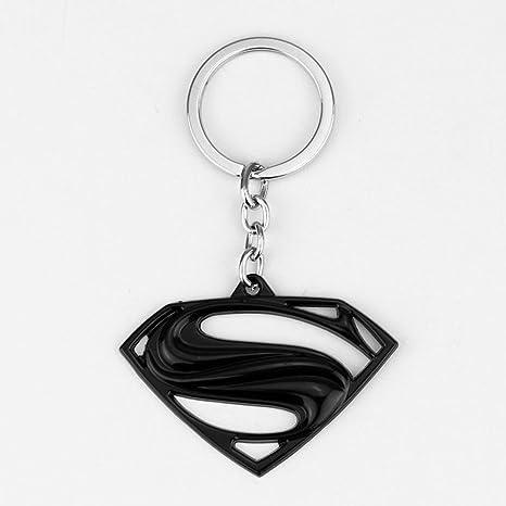 Amazon.com: Llavero de metal con el logotipo de Superman S ...