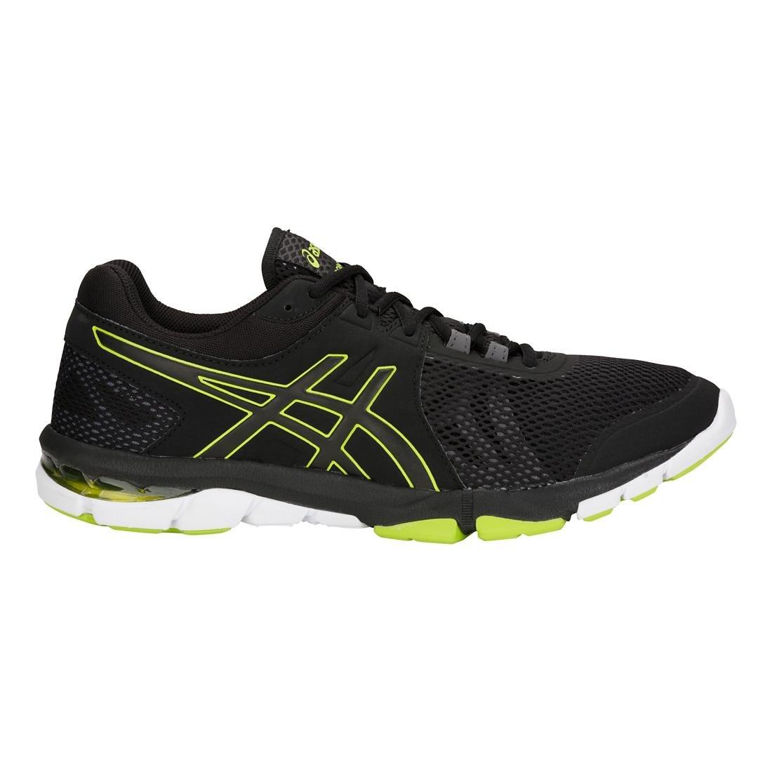 ASICS Mens Gel-Craze TR 4 Black/Neon Lime Cross Trainer - 9