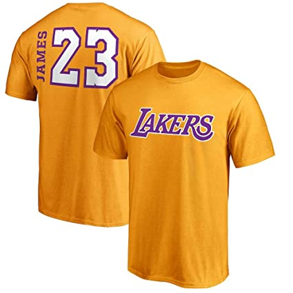 d86ba73b8 VF Majestic Lebron James Los Angeles Lakers  23 Men s Big   Tall Side Sweep  Player